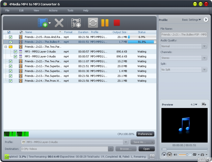converter mpeg to mp3