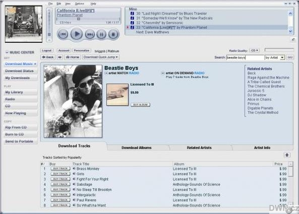 musicmatch com jukebox