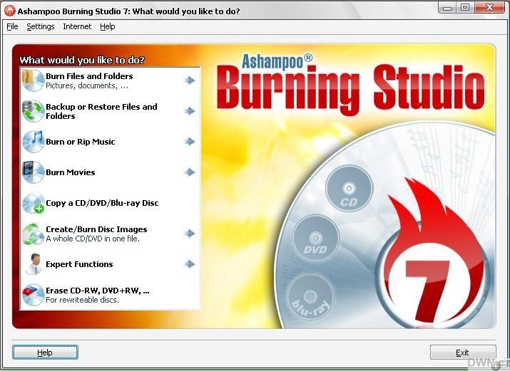ashampoo burning freeware
