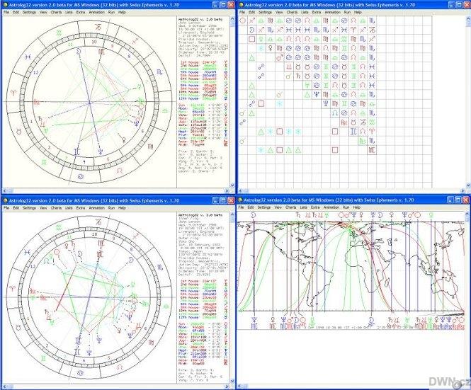 stažení astrologického softwaru zdarma